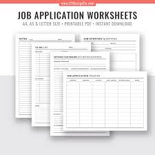 Resume For An Interview 2019 Job Application Tracker Interview Questions Worksheet Resume Keywords Checklist To Do List Notes For Job Interview Filofax A5 A4 Letter