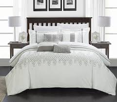image of cotton white comforter set chic image of cotton duvet cover white