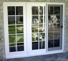 3 panel sliding glass door love the patio look frosted interior
