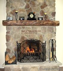 25 best ideas about rustic fireplace mantels on for great rustic fireplace surround