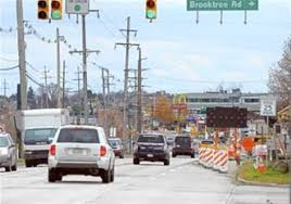 construction continues on route 19 in the 18 million project to widen the road from four