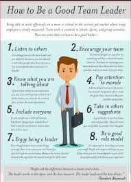 How To Be A Good Team Leader At Work What Makes A Great Team Leader Major Magdalene Project Org