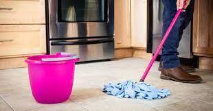 best way to mop tile floors