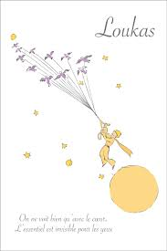 Affiche Citation Personnalisable Du Petit Prince