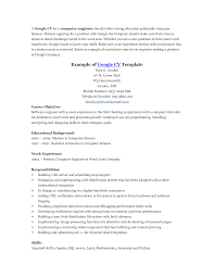 Google Sample Resume Google Resume Examples Enderrealtyparkco 4