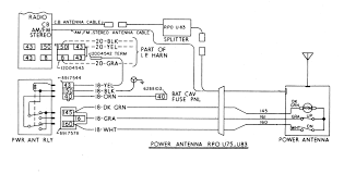 auto antenna wiring diagram on images free download inside tv 1984 corvette wiring schematic at Free Corvette Wiring Diagrams