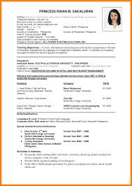 Newest Resume Format Latest Malaysia New Pdf Download Free Gallery
