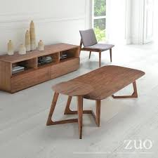 zuo design district coffee table park west coffee table walnut zuo design district coffee table walnut