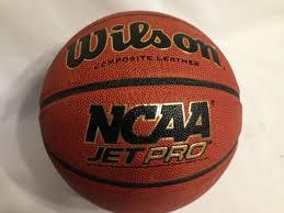 wilson jet pro composite leather basketball size 27 5 orange black for