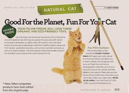 Eco friendly cat toys