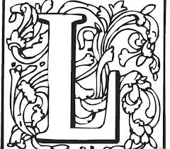 Amazing Design Letter L Coloring Pages Is For Lollipop Page
