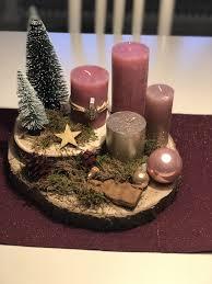 Kynttiläasetelma Jouluksi Portfolio Weihnachten