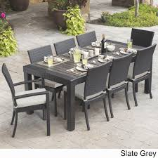 round table granite bay home decor on soothing new round outdoor dining table set coffee table
