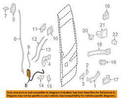 mercedes oem sprinter cargo door lock  image is loading mercedes oem 10 16 sprinter 3500 cargo door