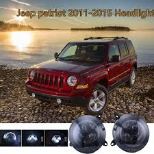 Led Headlights For Jeep Patriot 2011 2015 LED DRL Projector ...
