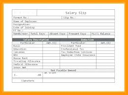 Template Salary Slip – Agoodmorning.co