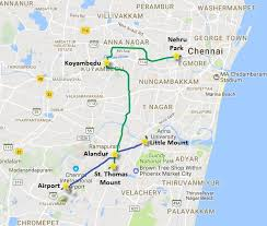 Chennai Metro Fare Chart