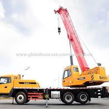 China Mobile Truck Crane 50 Ton Sany Stc500 Truck Crane On