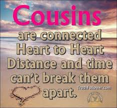 My Beautiful Cousin Quotes Best of Our Cousins Are Our First Friends Steemit