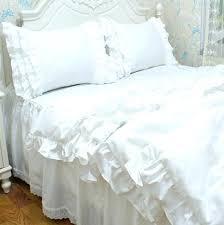cotton lace duvet covers white lace duvet cover single vintage white wedding lace ruffled bedding set