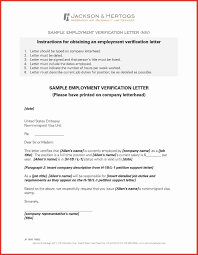 35 Inspirational Request For Employment Verification Letter Sample