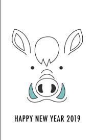 まとめ2019年亥年の無料イラスト年賀状素材集イラストイメージ
