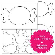 candy template. Delighful Template Printable Candy Shape Template In Candy Template A