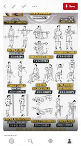 Biceps Exercise Chart Pin On Workouts