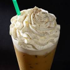 iced gingerbread latte