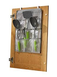 Amazon Kitchen Cabinet Doors Jokari Door Gadget Pockets With Design Decorating