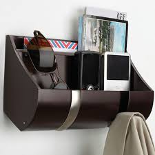 Cubby Wall Organizer With Coat Rack Wood Flip Hook Cubby Organizer Espresso in Wall Coat Racks 49