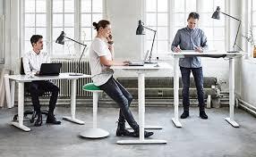 Standing Office Desk Ikea Great Ikea Standing Desk Stool Galantbekant System Office Desks