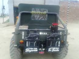 Modified Willys Jeep Turned Into A 6x6 In India