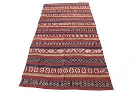 vintage afghan fat weave kilim rug
