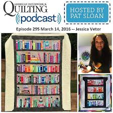 Bookshelf Quilt Pattern Stunning Listen Learn Sew With Pat Sloan Bookshelf Quilts Antiques And
