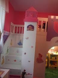 princess play loft bed