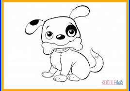 puppy drawing for kids. Fine Puppy Puppy Drawing For Kids Appealing Cute Of Puppies How To Draw A  With
