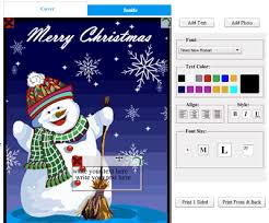 Online Christmas Card Maker Free Printable Free Printable Christmas Cards With Own Photo