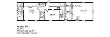 model 314 16x64 2bedroom 2bath oak creek mobile
