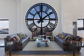 view in gallery awesome living room of the clock tower in brooklyn