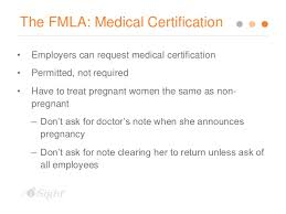 Doctors Note For Pregnancy Pregnancy Discrimination Update And Action Steps For Employers