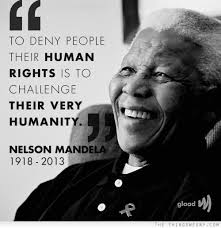 Human Rights Quotes Awesome Quote Of Nelson Mandela QuoteSaga