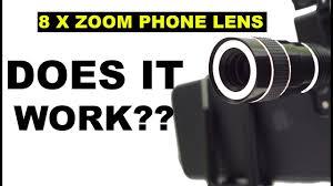 <b>Universal</b> 8x Zoom Telescope <b>phone</b> Lens! THE ULTIMATE REVIEW!!