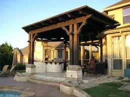 attached pergola plans covered designs free to house