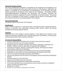 Education Coordinator Resumes 8 Sample Event Coordinator Resumes In Pdf