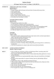 Stocker Resume Samples Velvet Jobs