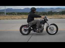 honda rebel 250 bolt on bobber kit ride youtube