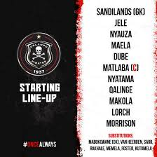 You can watch supersport united vs. Orlando Pirates Fc On Twitter Pirates Starting Lineup Vs Cape Town City 19 30 Fnb Stadium Piratesre80rn Oncealways