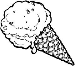 Small Picture Ice Cream Cone Coloring Pages for Kids Bulk Color