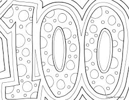 100 Day Of School Coloring Pages Share 100th Day Of School ...